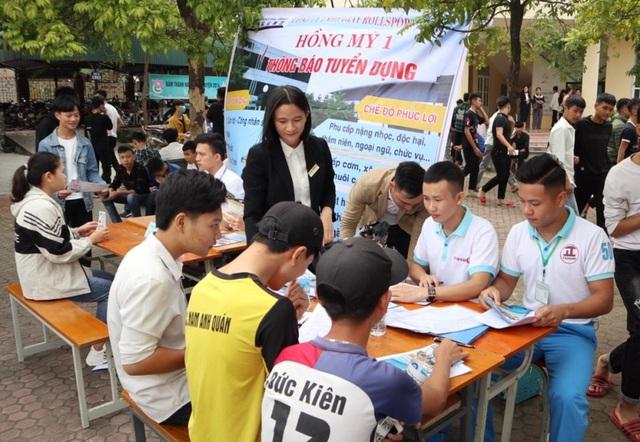 Thanh Hóa: Nhu cầu tuyển dụng hơn 6.700 người tại phiên giao dịch việc làm - 6