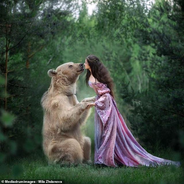 """Chú gấu mồ côi bỗng trở thành """"người mẫu ăn khách"""" - 13"""