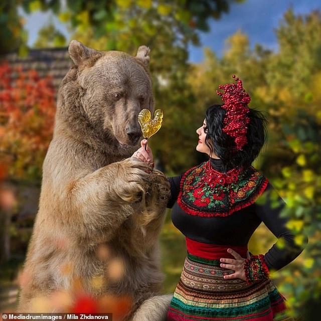 """Chú gấu mồ côi bỗng trở thành """"người mẫu ăn khách"""" - 14"""