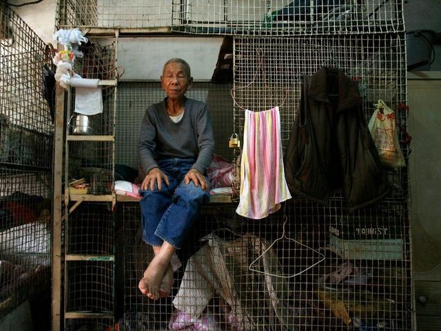 """Người nghèo chật vật tìm nhà tại """"thiên đường hoa lệ"""" Hồng Kông - 2"""