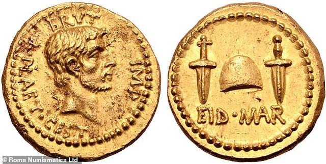 Rao bán đồng xu vàng siêu hiếm 2.000 năm tuổi với giá hơn 150 tỷ đồng - 1