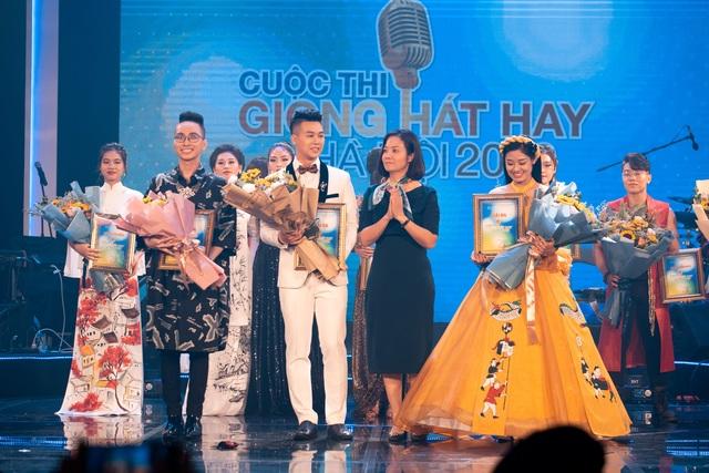 """Bùi Dương Thái Hà giành giải nhất """"Giọng hát hay Hà Nội - 5"""