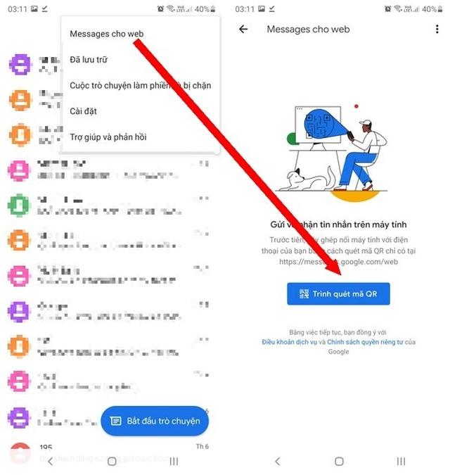 Thủ thuật giúp gửi và đọc tin nhắn trên smartphone trực tiếp từ máy tính - 3