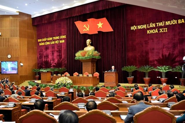 Bế mạc Hội nghị lần thứ 13 Ban chấp hành Trung ương khóa XII - 1
