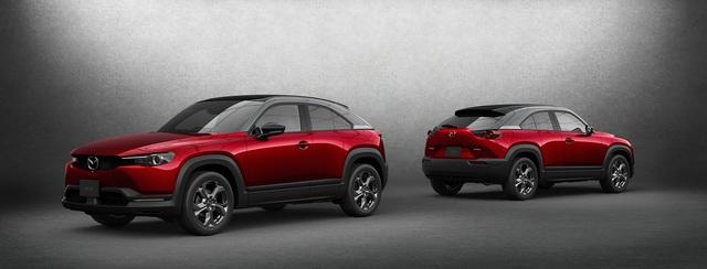 Tân binh Mazda MX-30 được bổ sung phiên bản hybrid - 3