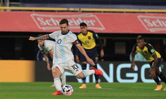 Messi ghi bàn duy nhất, Argentina thắng trận mở màn vòng loại World Cup - 3