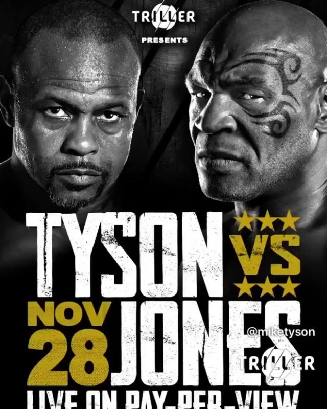 Huyền thoại Myke Tyson xác nhận chuẩn bị thượng đài với Roy Jones Jr - 1