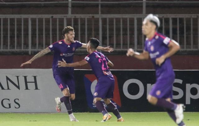 Đánh bại HL Hà Tĩnh, Sài Gòn FC tiếp tục giữ ngôi đầu V-League - 4