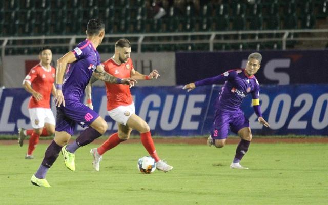 Đánh bại HL Hà Tĩnh, Sài Gòn FC tiếp tục giữ ngôi đầu V-League - 5