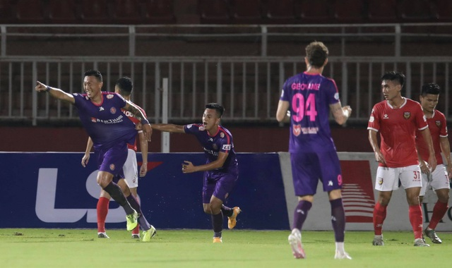 Đánh bại HL Hà Tĩnh, Sài Gòn FC tiếp tục giữ ngôi đầu V-League - 3