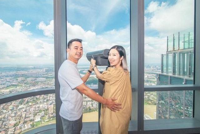Hình ảnh: Trải nghiệm khó quên tại khách sạn cao nhất Đông Nam Á  của admin 'Nghiện nhà' Hà Linh số 7