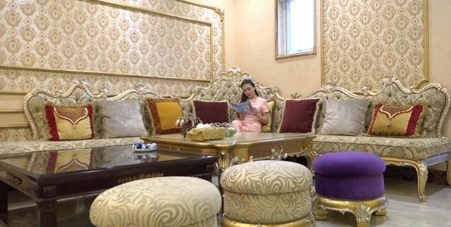 Độc đáo biệt thự hoàng gia có hồ cá ở phòng ăn của Hồ Quỳnh Hương - 4