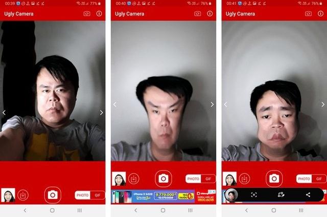 Những ứng dụng xử lý và biến hóa gương mặt siêu hài hước - 4