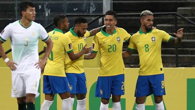Firmino tỏa sáng, Brazil thắng đậm ở ngày mở màn vòng loại World Cup - 1