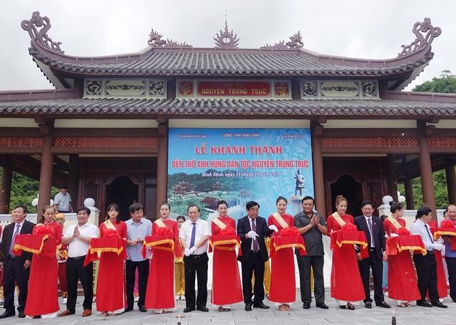 Khánh thành Đền thờ Anh hùng dân tộc Nguyễn Trung Trực - 1