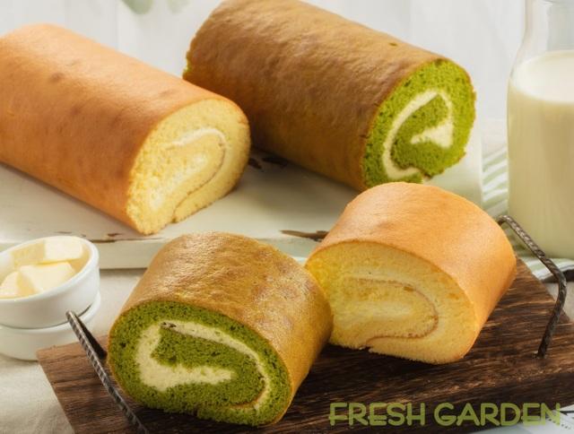 Đi tìm món bánh cuộn mềm mịn bồng bềnh mang vị Nhật từ Fresh Garden - 2