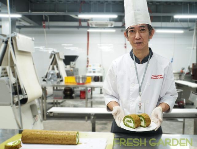 Đi tìm món bánh cuộn mềm mịn bồng bềnh mang vị Nhật từ Fresh Garden - 3