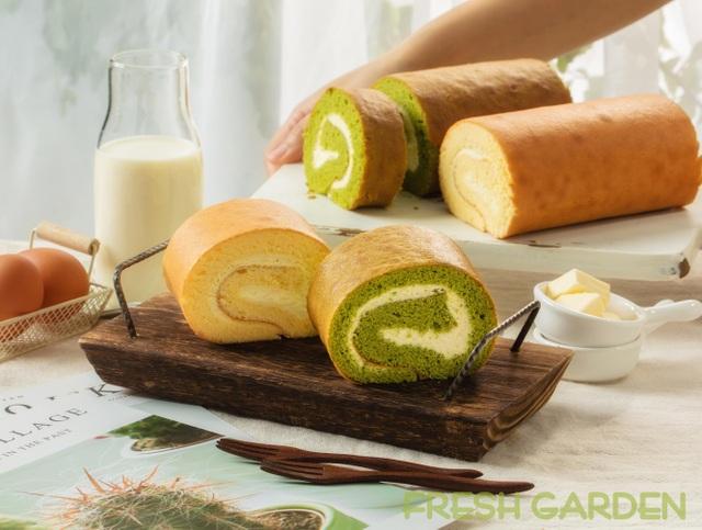 Đi tìm món bánh cuộn mềm mịn bồng bềnh mang vị Nhật từ Fresh Garden - 5