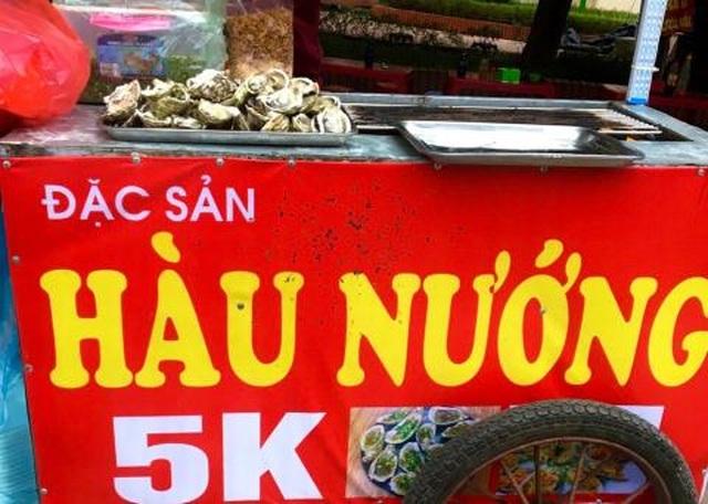 Hàu nướng vỉa hè 5.000 đồng/con đầy phố Hà Nội: Là hàu loại - 1