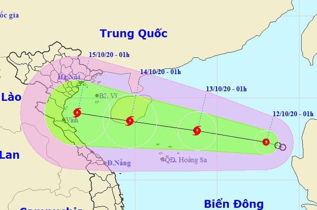 Áp thấp nhiệt đới khả năng mạnh lên thành bão, Trung Bộ tiếp tục mưa lớn - 1