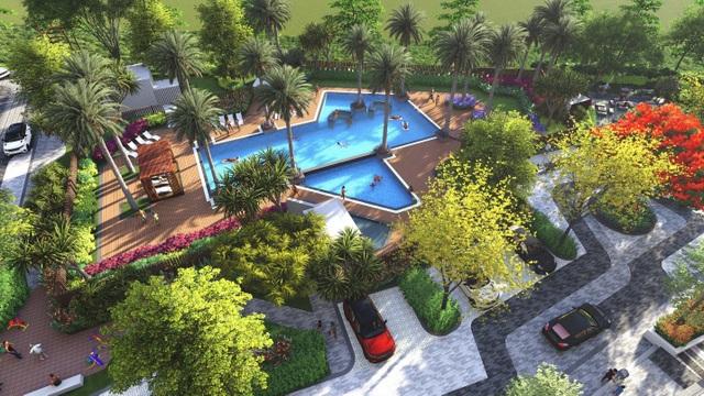Căn hộ resort phong cách kiến trúc Indochine đã xuất hiện tại quận 12 - 1