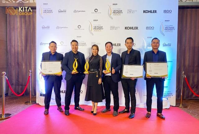 """KITA Group lập """"hat-trick"""" giải thưởng tại PropertyGuru Vietnam Property Awards 2020 - 1"""