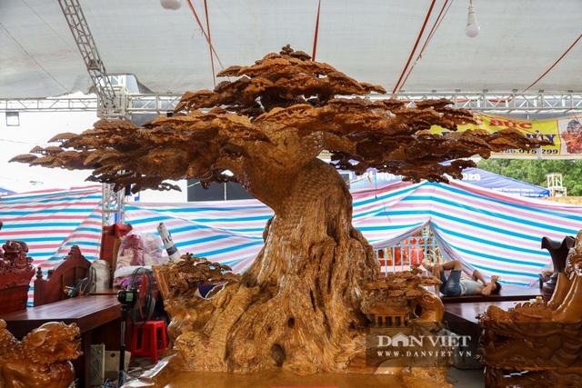 Ngỡ ngàng khúc gỗ được rao bán 10 tỷ đồng tại hội chợ ở Hà Nội - 10