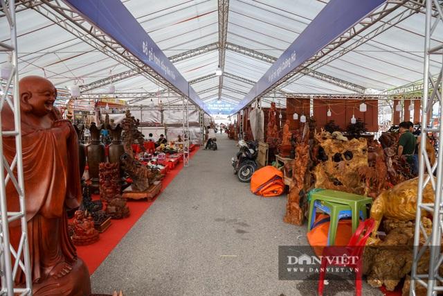 Ngỡ ngàng khúc gỗ được rao bán 10 tỷ đồng tại hội chợ ở Hà Nội - 11