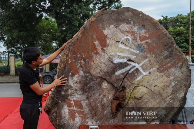 Ngỡ ngàng khúc gỗ được rao bán 10 tỷ đồng tại hội chợ ở Hà Nội - 5