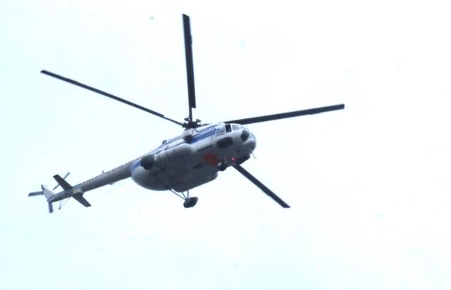 Hai trực thăng không quân từ Đà Nẵng ra Huế cứu hộ thủy điện Rào Trăng 3 - 2