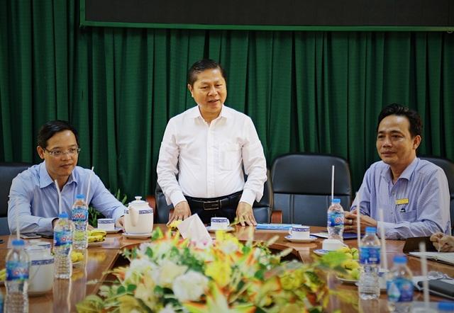 Thứ trưởng Lê Tấn Dũngkiểm tra công tác đào tạo nghề tại TP.HCM - 3