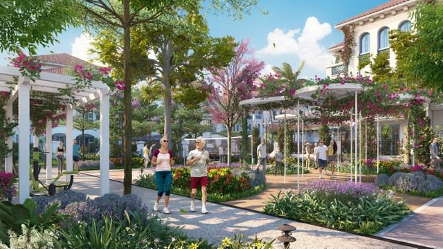 """Sáu công viên quý như """"vàng"""" của Sun Grand City Feria - 2"""