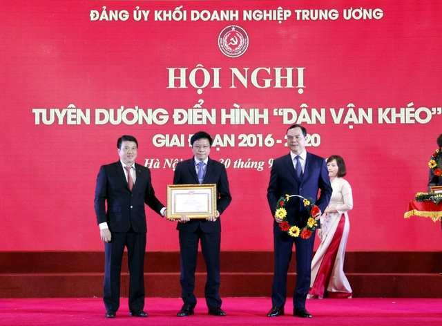 """Đảng bộ Tổng Công ty Khí Việt Nam được tuyên dương điển hình """"Dân vận khéo"""" - 1"""