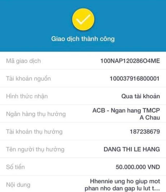 HHen Niê, Lê Thúy… hành động nhanh chóng để giúp đỡ bà con miền Trung - 4