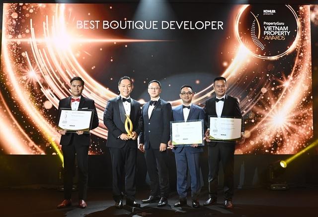 Văn Phú - Invest thắng lớn tại giải thưởng PropertyGuru Vietnam - 2