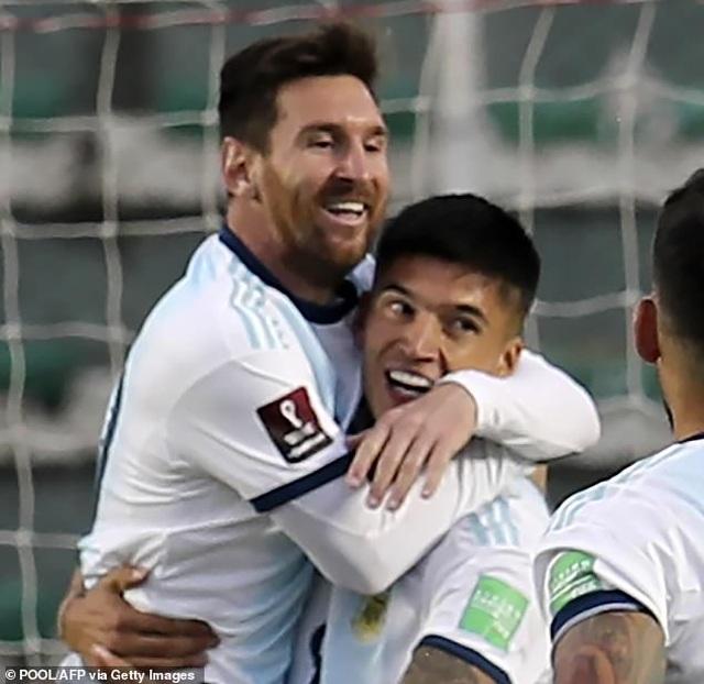 Messi mờ nhạt, Argentina vẫn ngược dòng đánh bại Bolivia - 6