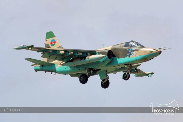 Su-25 nghi của Azerbaijan bị bắn rơi ở Nagorno-Karabakh - 1