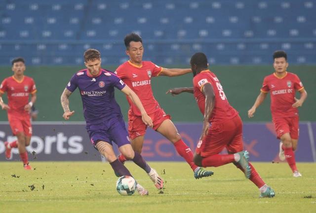 Tiến Linh ghi bàn, B.Bình Dương thắng đội đầu bảng Sài Gòn FC - 6