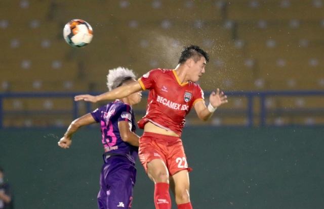 Tiến Linh ghi bàn, B.Bình Dương thắng đội đầu bảng Sài Gòn FC - 4