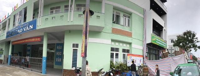Đà Nẵng: Công trình gần trường sụt lún, học sinh 18 lớp phải di dời - 3