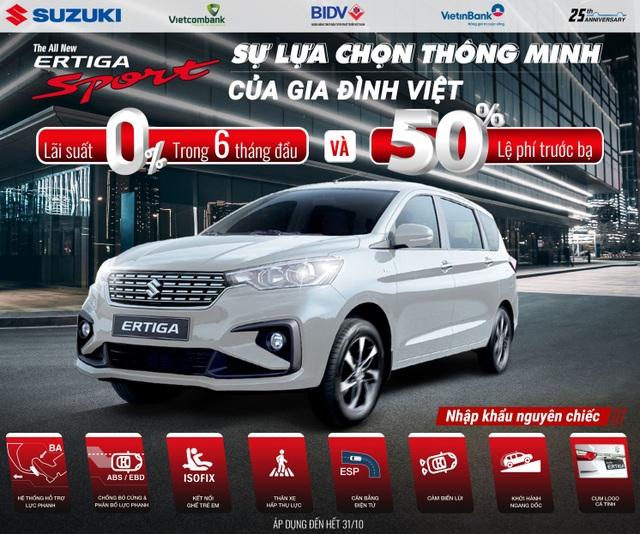 """Doanh số tăng trưởng mạnh, Suzuki """"chiêu đãi"""" khách hàng khuyến mãi lớn - 3"""