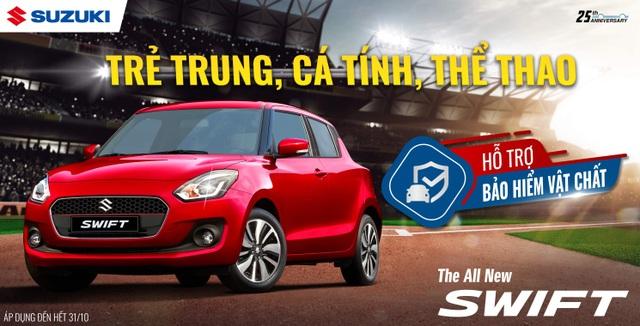 """Doanh số tăng trưởng mạnh, Suzuki """"chiêu đãi"""" khách hàng khuyến mãi lớn - 5"""