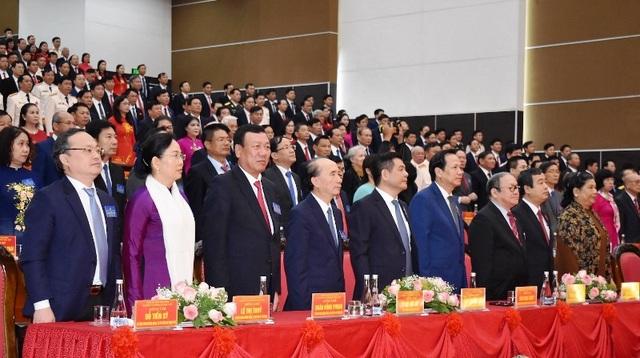 Khai mạc Đại hội đại biểu Đảng bộ tỉnh Thái Bình lần thứ XX - 2