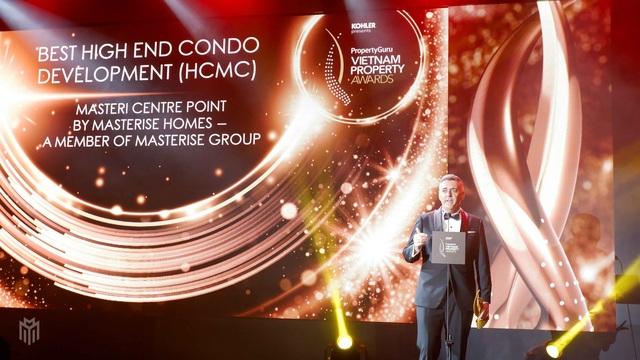 Masteri Centre Point ghi dấu thắng lợi tại lễ trao giải PropertyGuru Vietnam Property Awards 2020 - 2