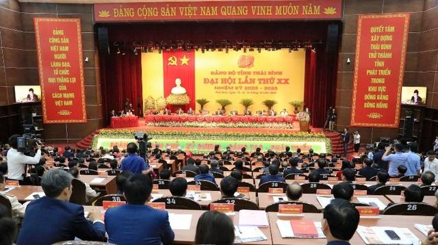Khai mạc Đại hội đại biểu Đảng bộ tỉnh Thái Bình lần thứ XX - 1