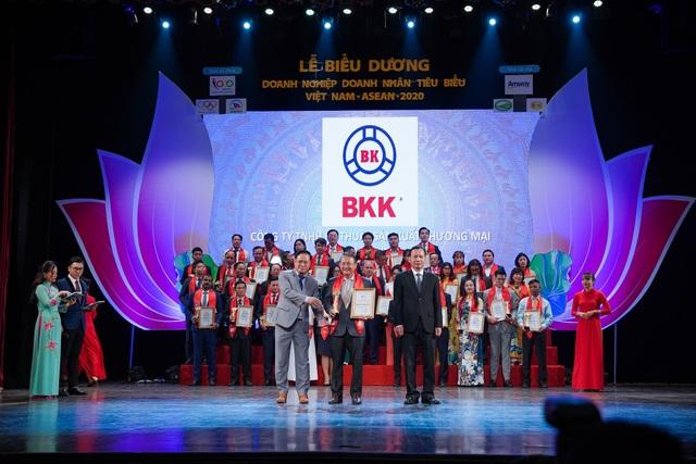 """Phễu thoát sàn Bạch Kim BKK: """"Doanh nghiệp tiêu biểu Việt Nam - ASEAN 2020"""" - 1"""