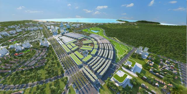 """Giải mã vị trí """"giao lộ vàng"""" của khu đô thị biển Kỳ Co Gateway - 1"""