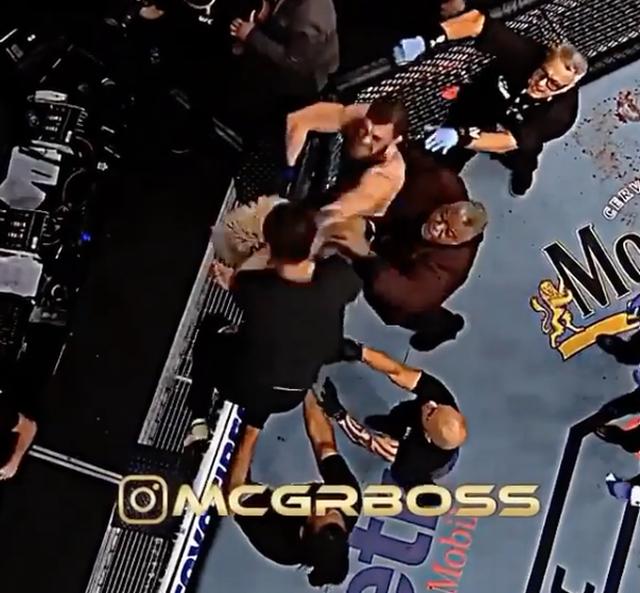 Gã điên McGregor tiết lộ cảnh quay mới vụ đánh nhau với Khabib năm 2018 - 1