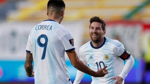 Messi mờ nhạt, Argentina vẫn ngược dòng đánh bại Bolivia - 5