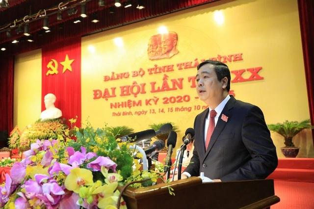 Khai mạc Đại hội đại biểu Đảng bộ tỉnh Thái Bình lần thứ XX - 3